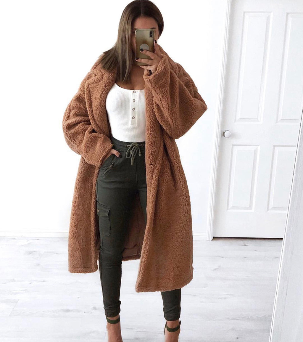 Dante teddy coat