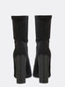 Antidote black heeled boot