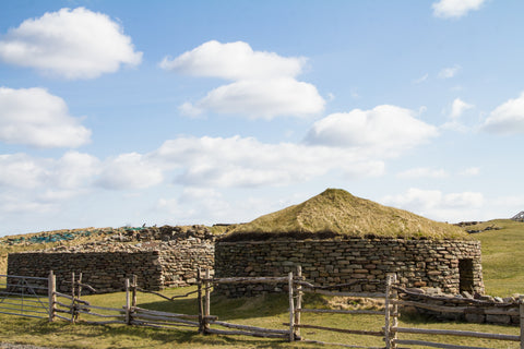 Old Scatness archaeological site - Shetland