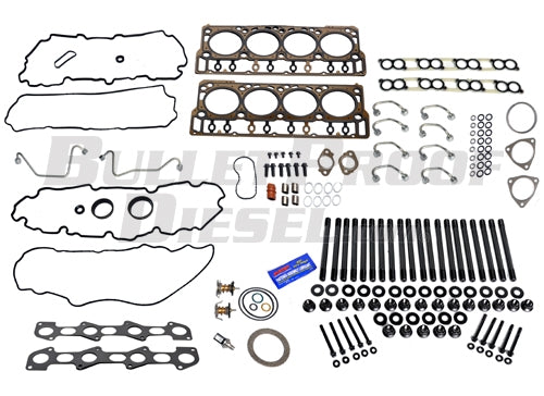 Head Gasket Install Complete Kit, Ford 6.4L