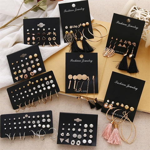 Stylish Earrings Set - Earrings For Women