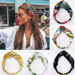 Beautiful Vintage Hair Bands With Print - Summer Hair Accessories