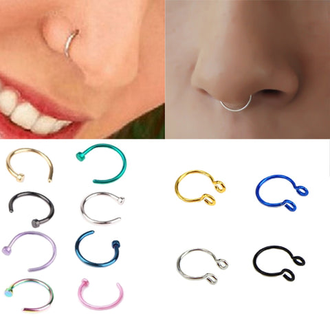 Cool Nose Ring - Made From Stainless Steel Nose Jewelry