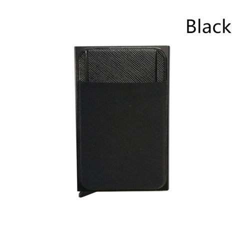 Business Wallet And ID Card Holder With RFID Block