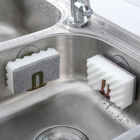 Sponge Holder For Kitchen Or Bathroom - Home Accessory Organizer