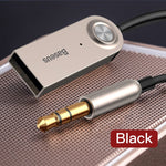 Aux Bluetooth Adapter For Car With 3.5mm Jack Cable Aux - Bluetooth Transmitter