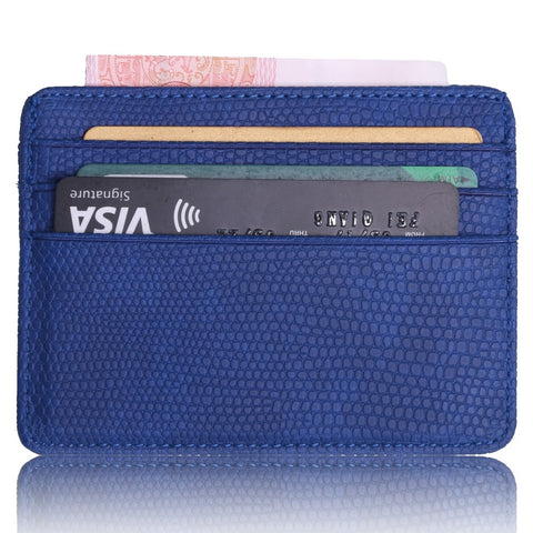 Beautiful Leather Wallet And ID Card Holder