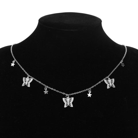 Beautiful Necklace With Butterfly Pendant - Perfect Gift For Every Woman
