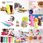 Funny Toys For Cat - Interactive Plush Toy