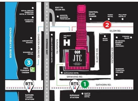 Jewelry Trade Center Map