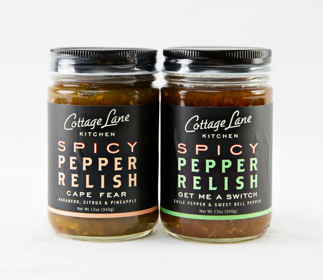 Spicy Pepper Relish