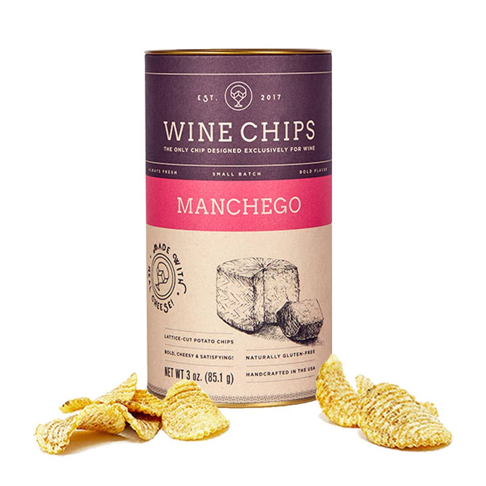 Wine Chips - Manchego