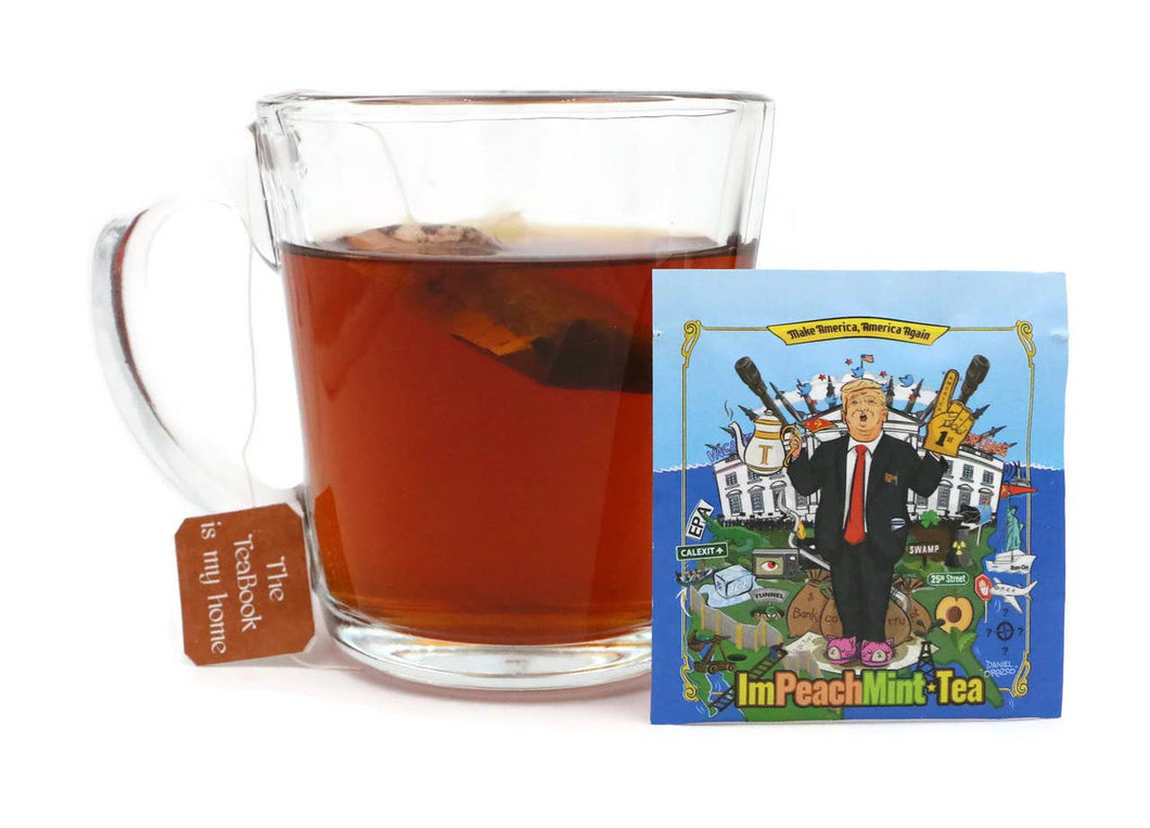 Trump Impeachmint - Rooibos and Mint Tulsi Tea Bag