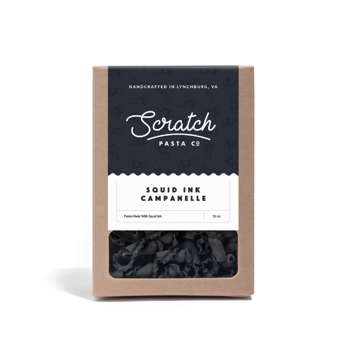 Scratch Squid Ink Campanelle