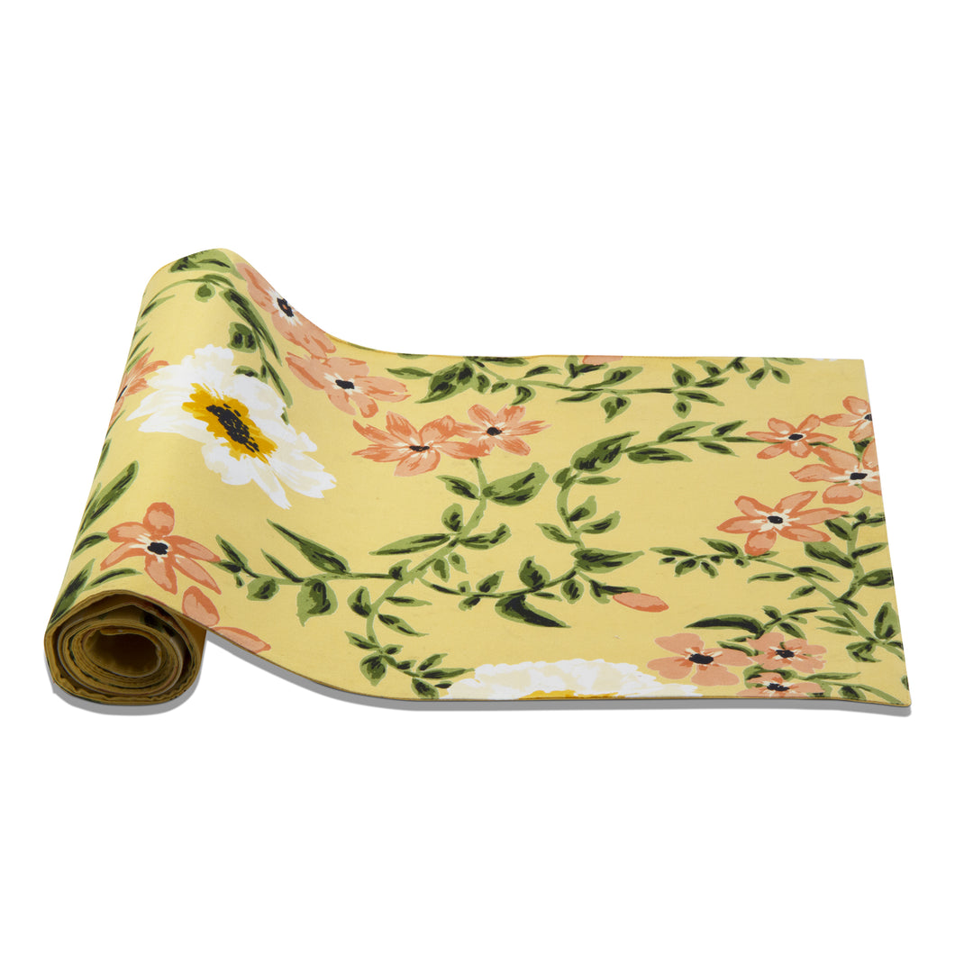 Bee Floral Table Runner