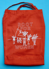 Load image into Gallery viewer, Root for Women Cotton Apron