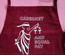 Load image into Gallery viewer, Cabernet & Equal Pay Apron