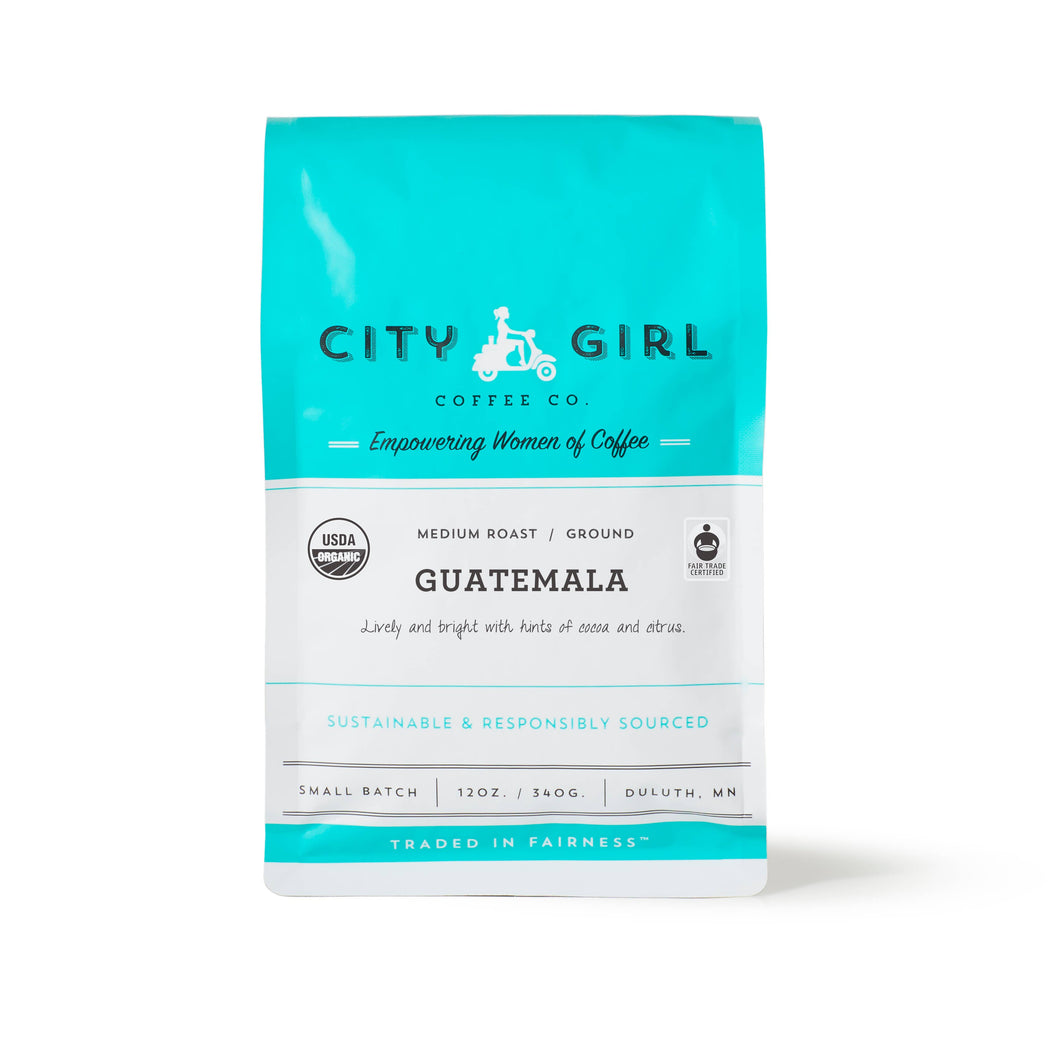 City Girl Organic Guatemala Ground Coffee
