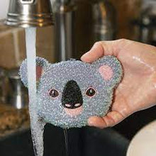 Load image into Gallery viewer, Koala Sponges Set/3