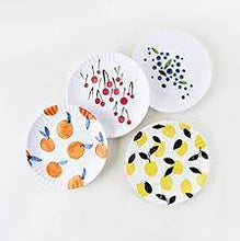 Load image into Gallery viewer, Fruit Melamine Plate Set/4