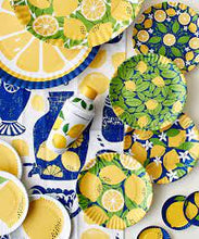 Load image into Gallery viewer, Lemon Melamine Coaster Set/4