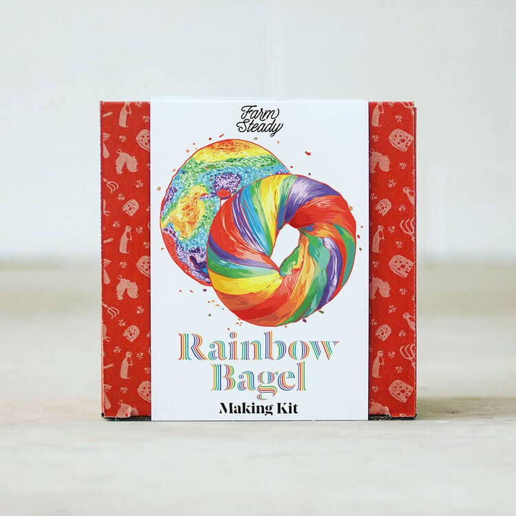 Rainbow Bagel Making Kit