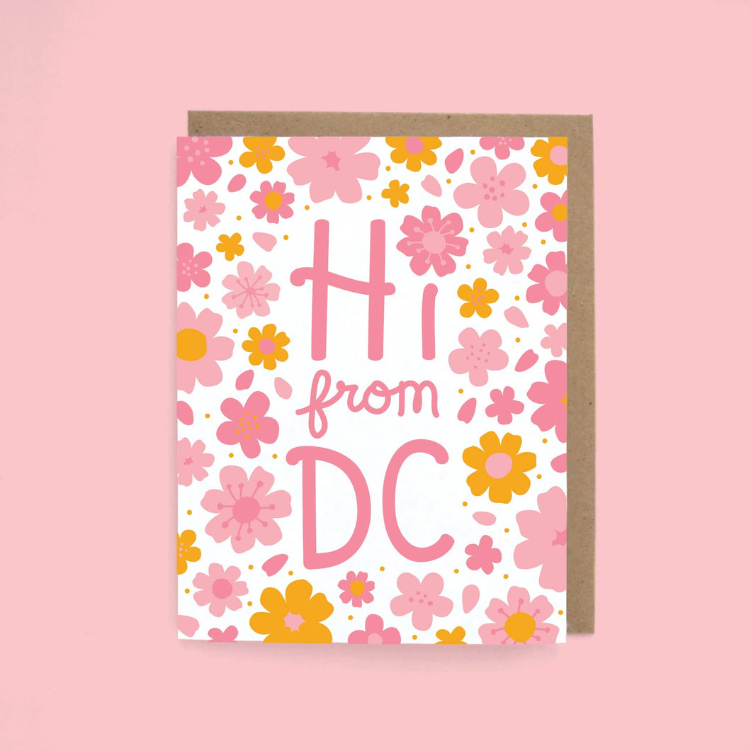 Hi from DC Blossom Card