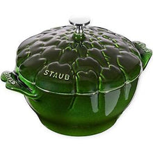 Load image into Gallery viewer, Staub Enameled Cast Iron Artichoke Cocotte