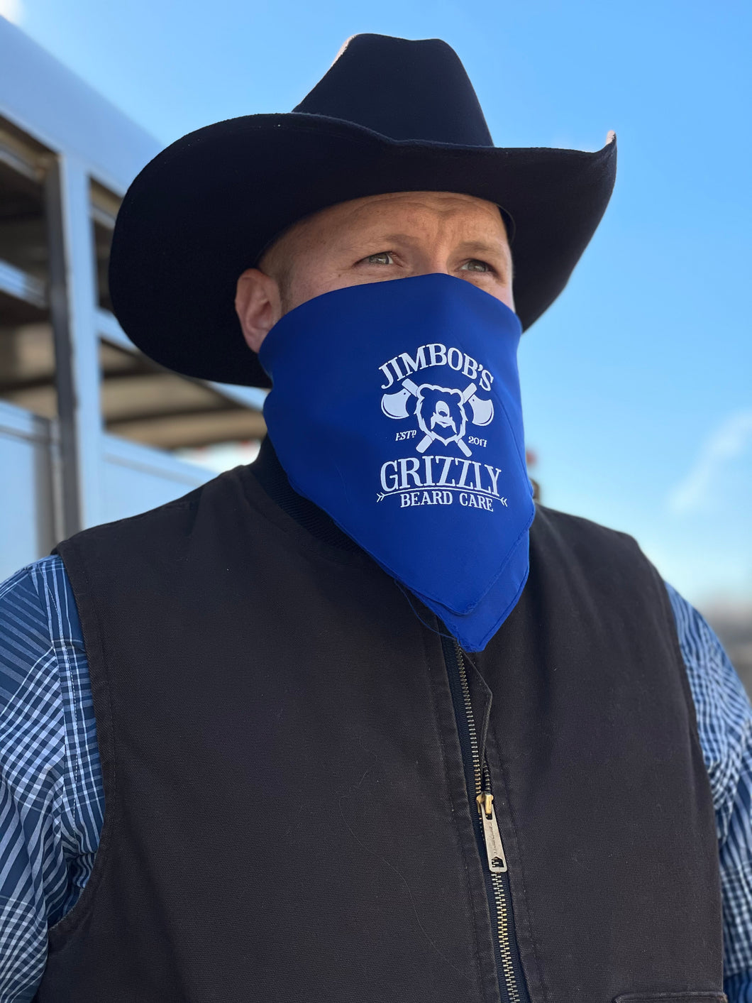 Grizzly Mark Bandanas