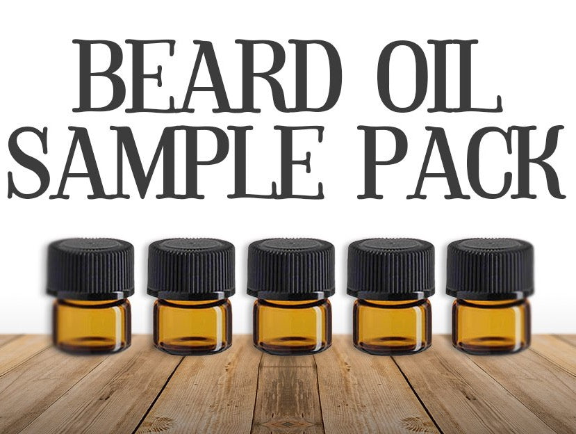 JIMBOB'S GRIZZLY BEARD OIL Sample Pack