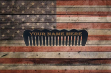 Load image into Gallery viewer, GRIZZLY BUFFALO HORN BEARD COMB (Standard)