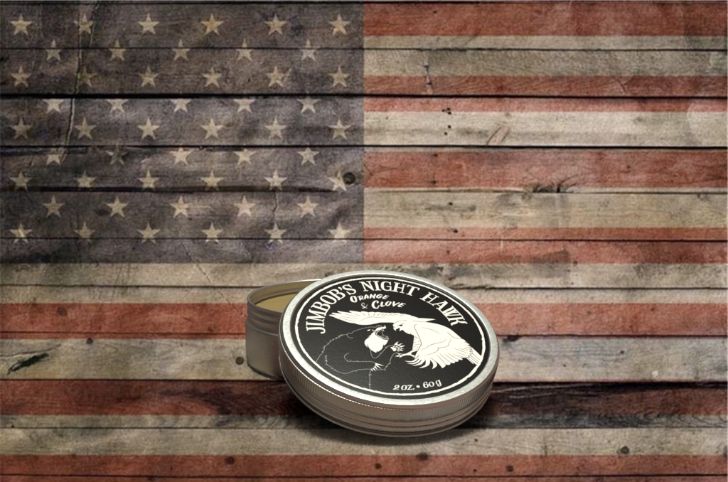 Night Hawk Beard Balm (Orange/Clove)