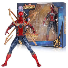 Load image into Gallery viewer, Marvel Avengers Toys Thanos Hulk Buster Spiderman Iron Man Thor Wolverine Black Panther Action Figure Toys For Children's gifts