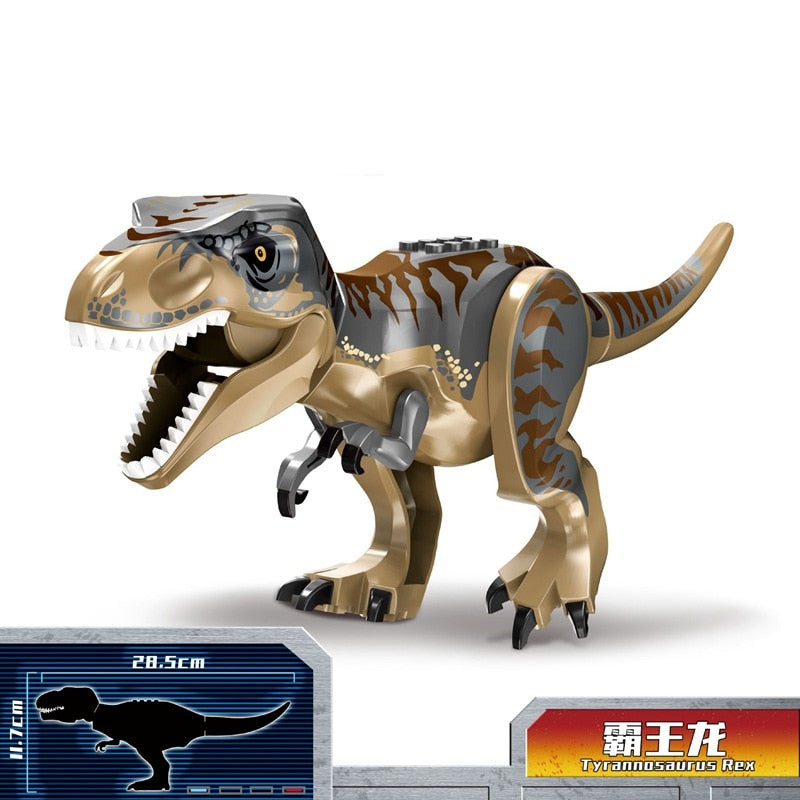 Dinosaur Hobby Suitable for Kids Jurassic Birthday Present Strong Educational Building Blocks Accessories Compatible Dinosaur