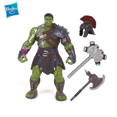 Hasbro Super Hero Thor 3 Ragnarok War Hammer Battle Axe Gladiator Hulk  PVC Action Figure Collectible Model Toy For Boys Gift