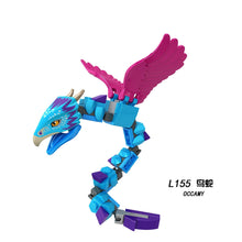Load image into Gallery viewer, Locking Movie Blocks Cartoon Super Heroes Aragog Occamy Hungarian Thestral Building Blocks Toys For Children Assemble Toy Block