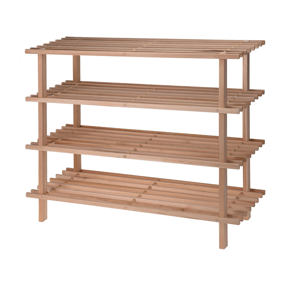 Bamboo Shoe Rack - 4 Tier