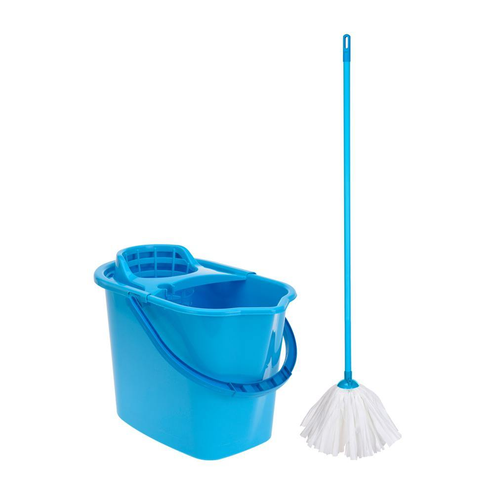 Mop and bucket | Blue