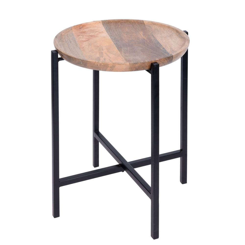 Natural Wood Side Table - Ecolifestyle.shop