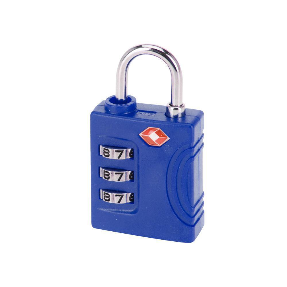 3 Dial Combination TSA Lock | Blue