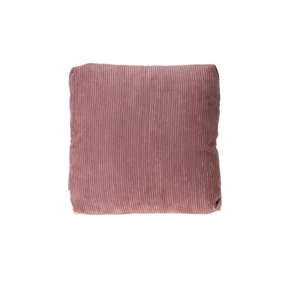 Canvas and Suede Cushion - Ecolifestyle.shop