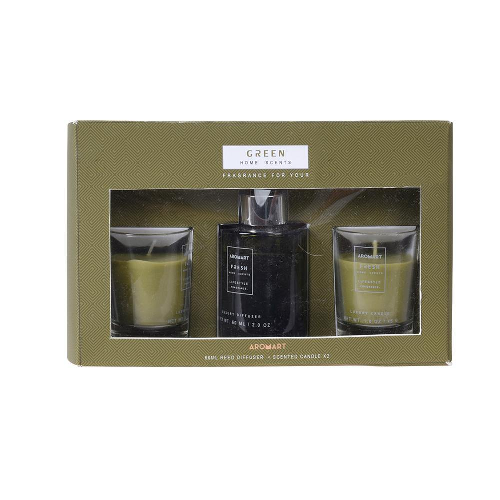 Eco Fragrance Gift Set - 3 Pieces