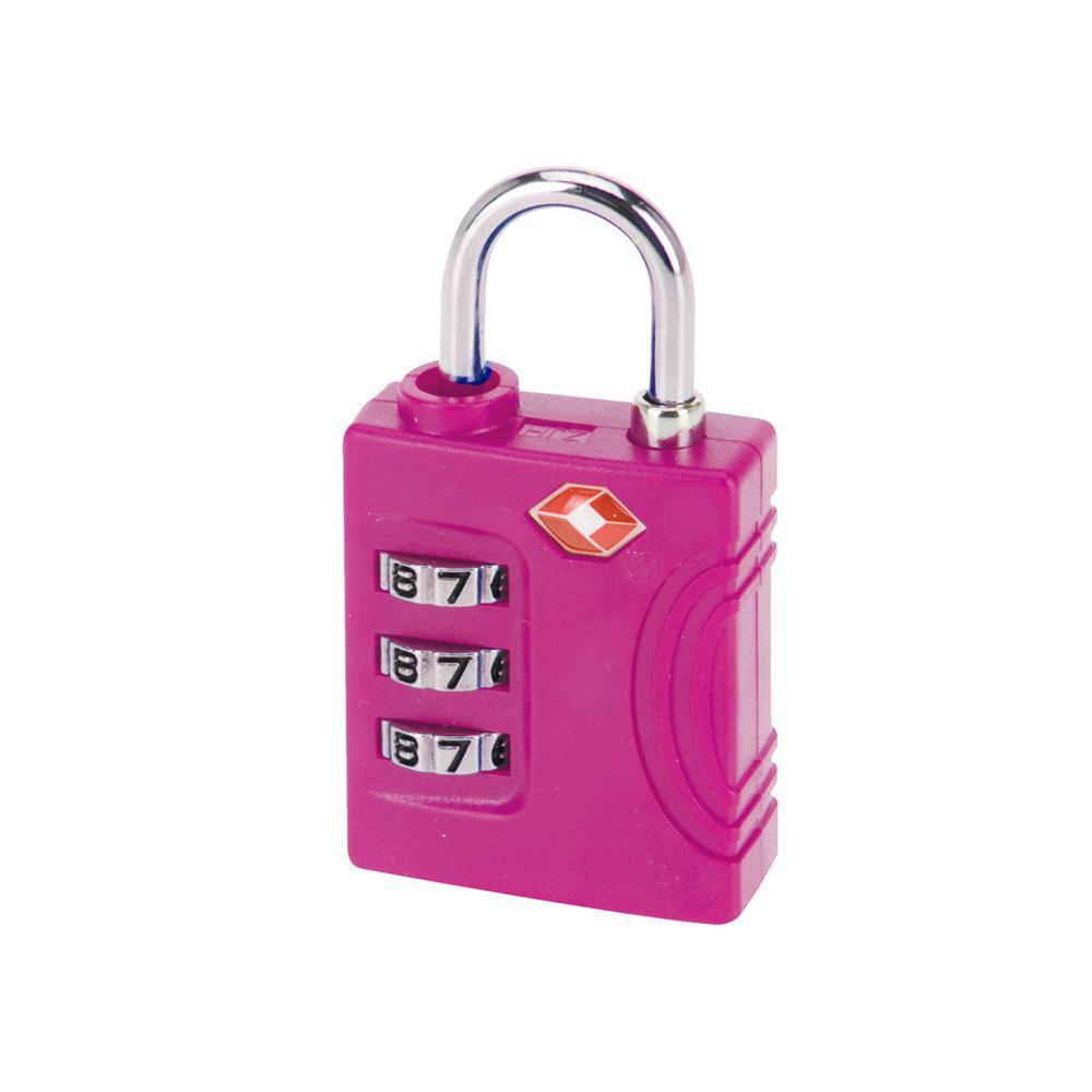 3 Dial Combination TSA Lock | Pink