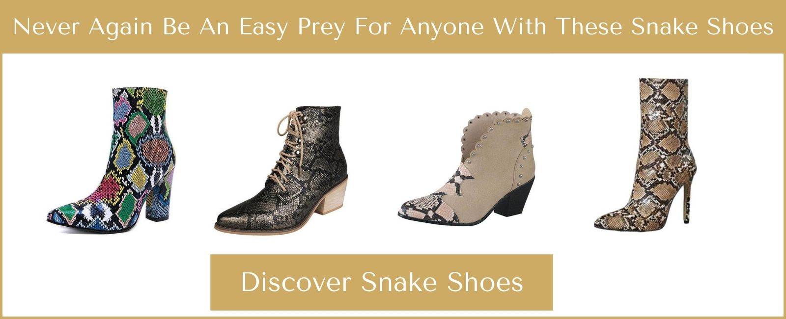 Snake shoes collection