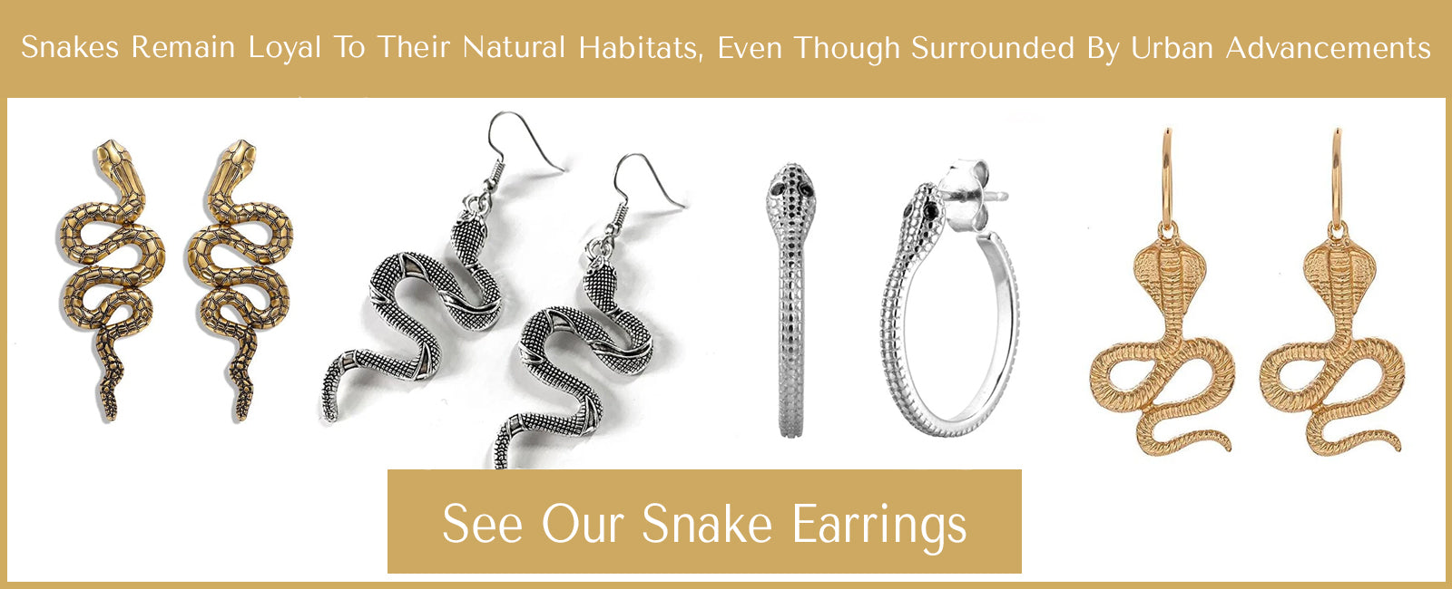 Snake Earrings Collection