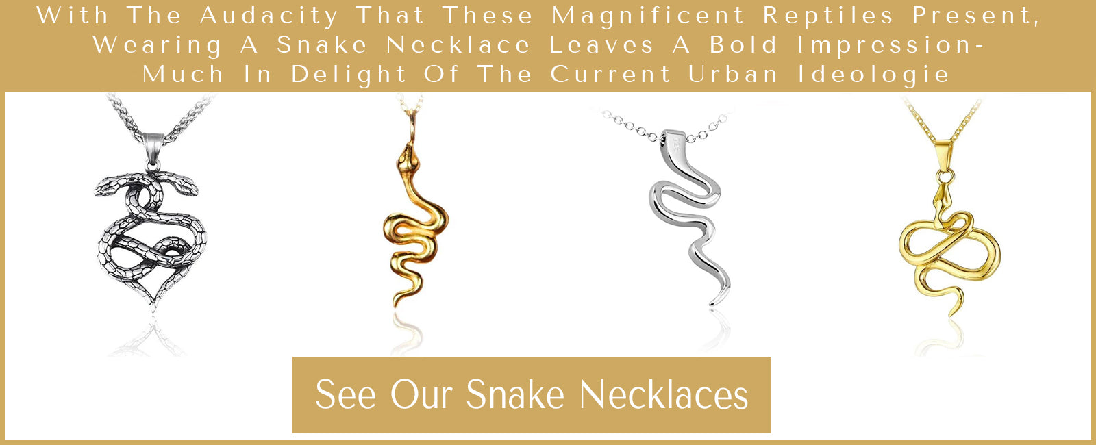 Snake Necklaces Collection