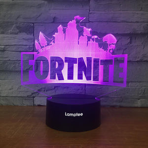 Anime Fortnite 3D Illusion Lamp Night Light 3DL2529