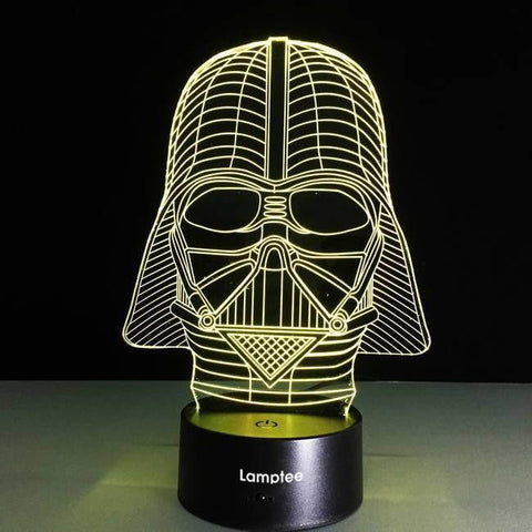 Darth Vader 3D Illusion Lamp Night Light 3DL2618