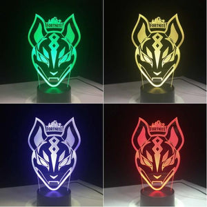 Fortnite 3D Illusion Lamp Night Light 3DL2635