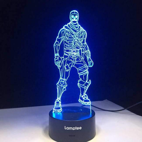 Fortnite Character 3D Illusion Lamp Night Light 3DL2636